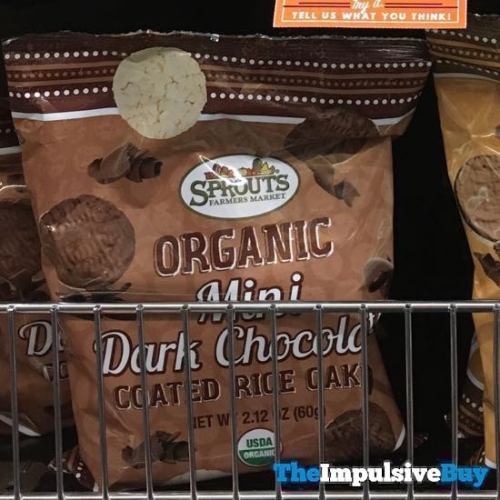 Sprouts Organic Mini Dark Chocolate Coated Rice Cakes