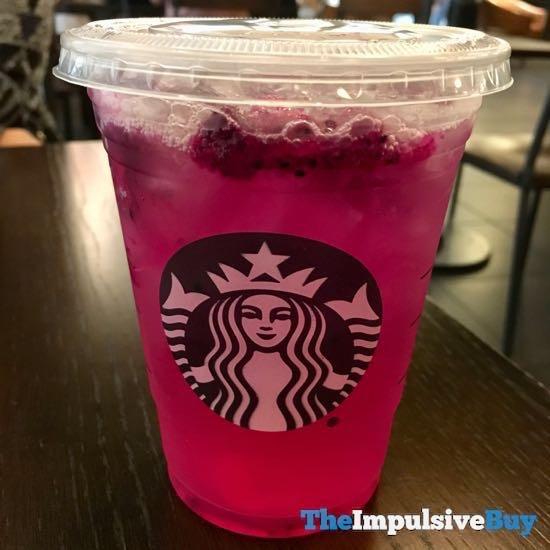 Starbucks Mango Dragonfruit Refreshers Beverage