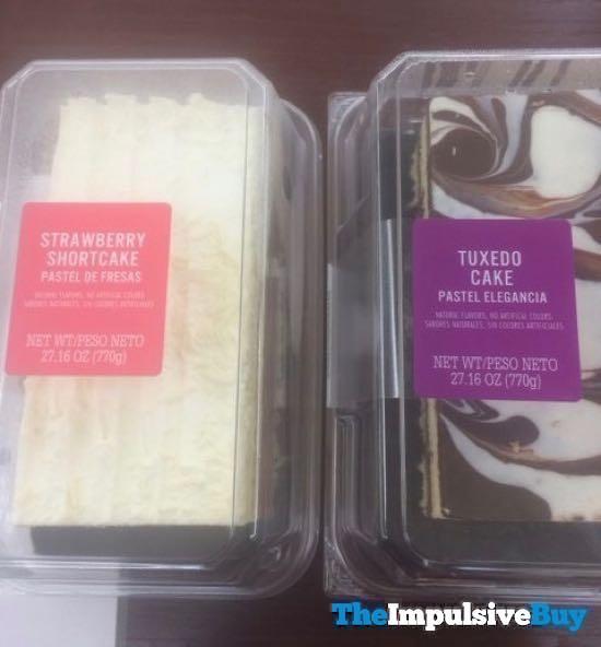 Strawberry Shortcake and Tuxedo Cake