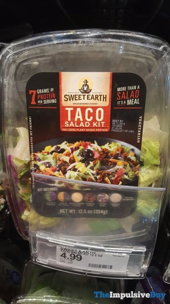 Sweet Earth Taco Salad Kit