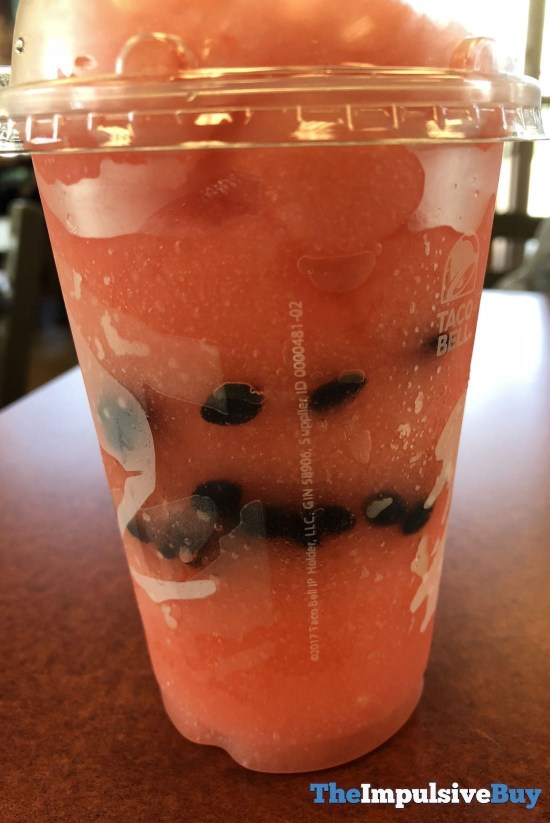 Taco Bell Watermelon Freeze 2