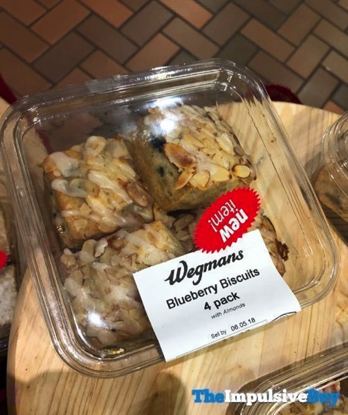 Wegmans Blueberry Biscuits