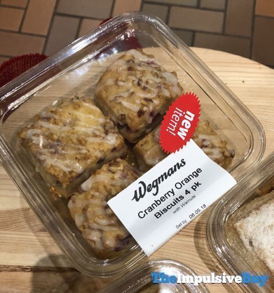 Wegmans Cranberry Orange Biscuits