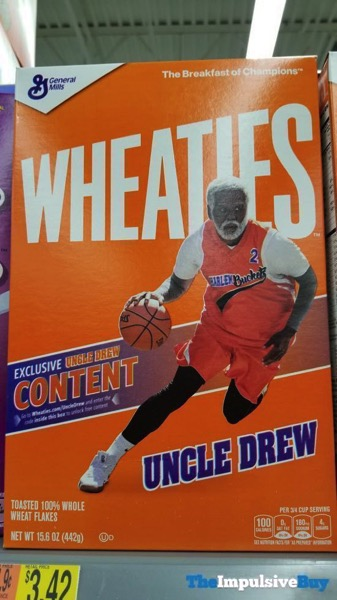 Wheaties Uncle Drew Box