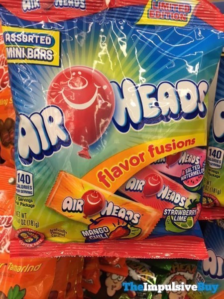 Air Heads Limited Edition Flavor Fusions Assorted Mini Bars
