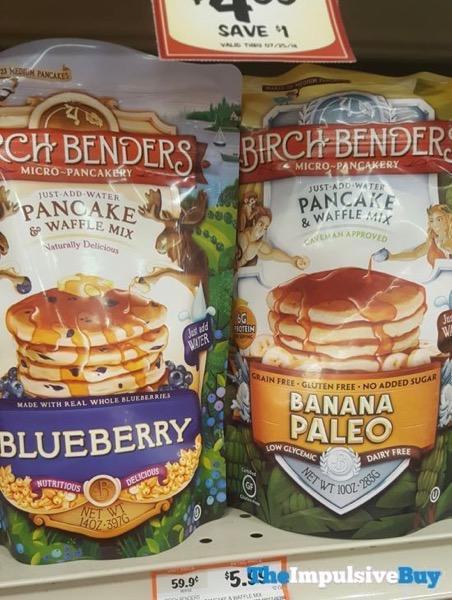 Birch Benders Blueberry and Banana Paleo Pancake  Waffle Mix