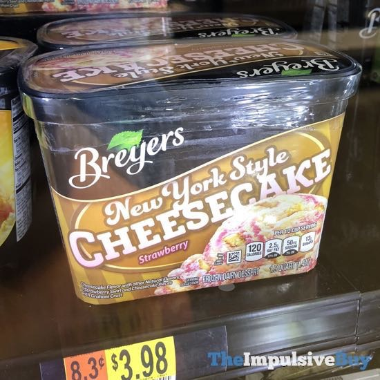 Breyers New York Style Cheesecake Strawberry