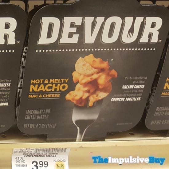 Devour Single Serve Hot  Melty Nacho Mac  Cheese