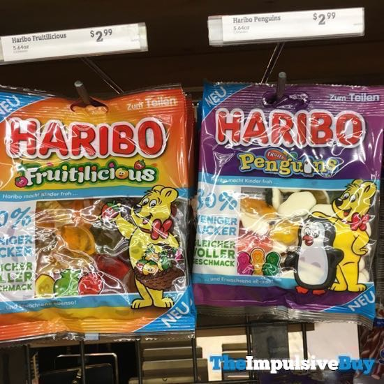 Haribo Fruitilicious and Fruit Penguins