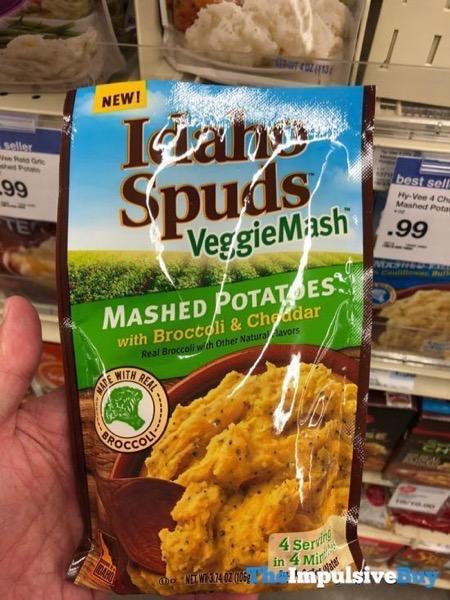 Idaho Spuds VeggieMash Mashed Potatoes with Broccoli  Cheddar