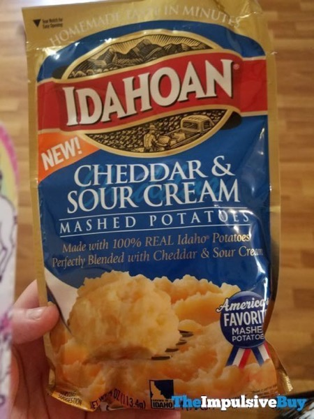 Idahoan Cheddar  Sour Cream Mashed Potatoes