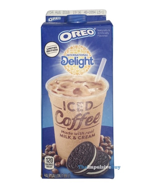 International Delight Limited Edition Oreo Iced Coffee a