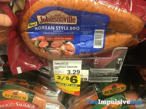 Johnsonville Korean Style BBQ Smoked Sausage