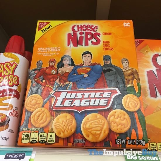 Justice League Cheese Nips