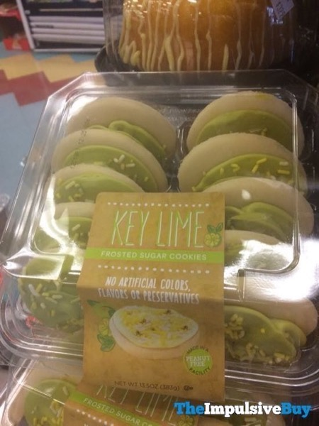 Key Lime Frosted Sugar Cookies