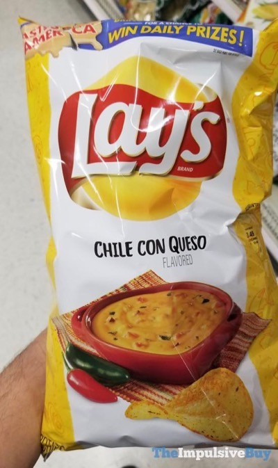 Lay s Chile Con Queso Potato Chips