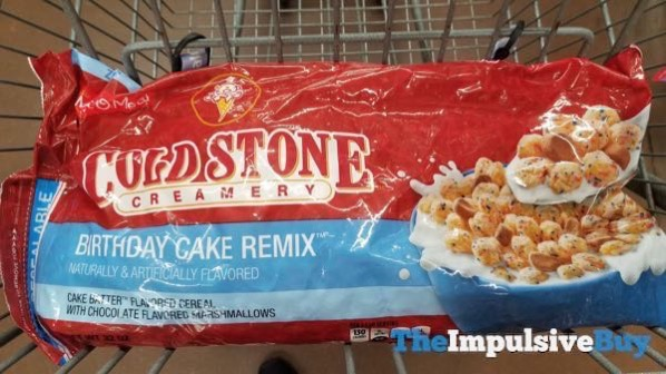 Malt O Meal Cold Stone Creamery Birthday Cake Remix Cereal