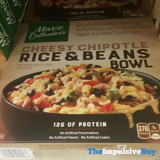 Marie Callender s Cheesy Chipotle Rice  Beans Bowl