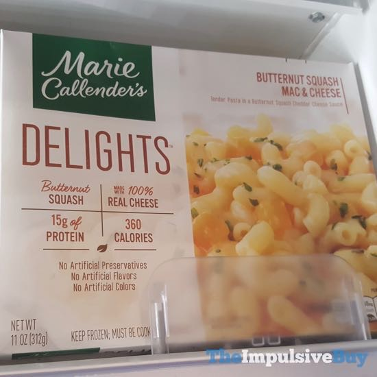 Marie Callender s Delights Butternut Squash Mac  Cheese