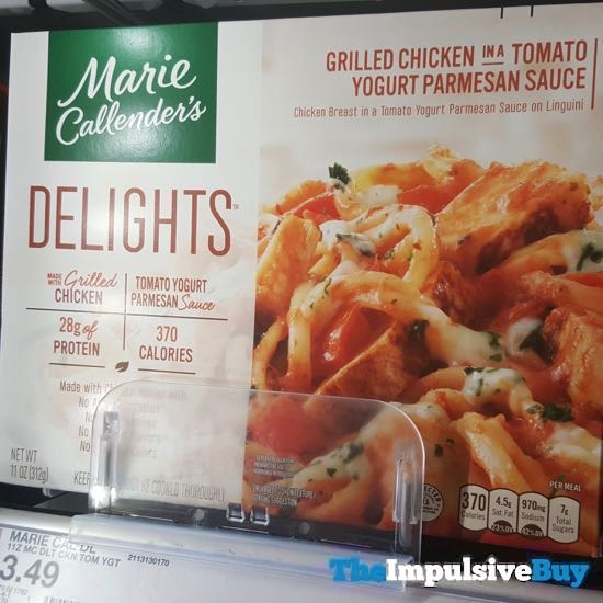 Marie Callender s Delights Grilled Chicken in a Tomato Yogurt Parmesan Sauce