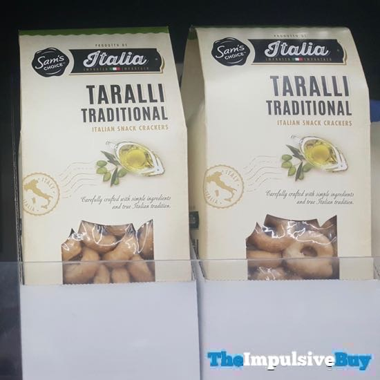 Sam s Choice Italia Taralli Traditional Italian Snack Crackers