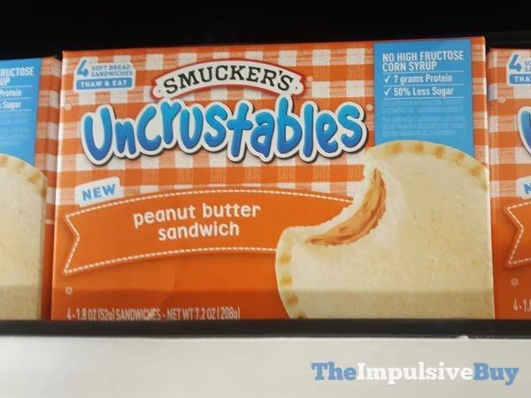 Smucker s Uncrustables Peanut Butter Sandwich