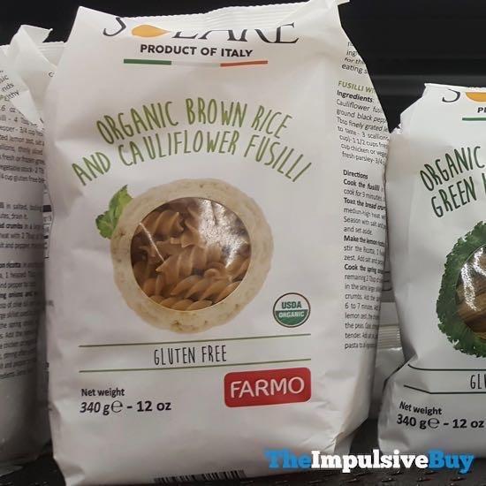Solare Organic Brown Rice and Cauliflower Fusilli
