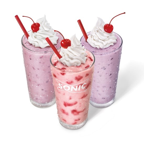 Sonic Real Fruit Berry Shakes