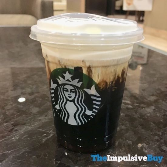 Quick Review Starbucks Salted Cream Cold Foam Cold Brew