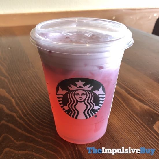 Starbucks Summer Sunset Cold Foam Tea Lemonade