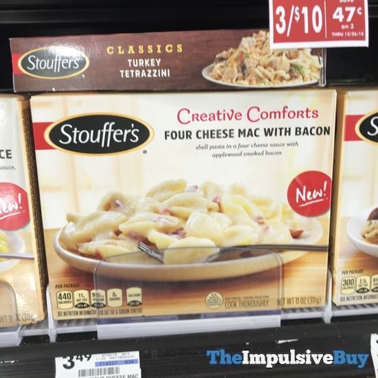 Stouffer s Creative Comforts Four Cheese Mac with Bacon