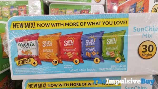 SunChips Mix 30 Pack