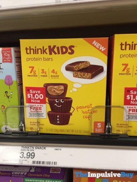 ThinkKids Peanut Butter Cup Protein Bars
