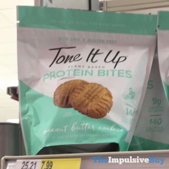 Tone It Up Peanut Butter Cookie Protein Bites