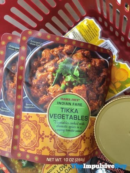 Trader Joe s Indian Fare Tikka Vegetables