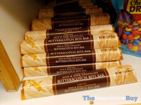 Trader Joe s Milk  Dark Chocolate Butterscotch Bits Bar