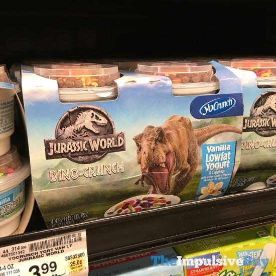 YoCrunch Jurassic World Dino Crunch Yogurt