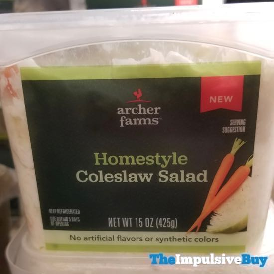 Archer Farms Homestyle Coleslaw Salad