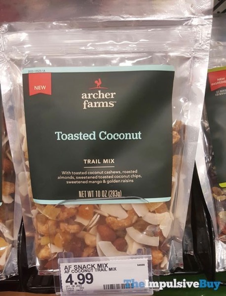 Archer Farms Toasted Coconut Trail Mix