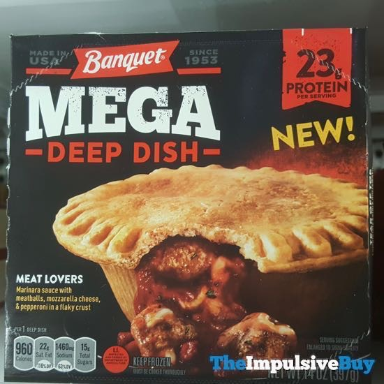 Banquet Mega Deep Dish Meat Lovers