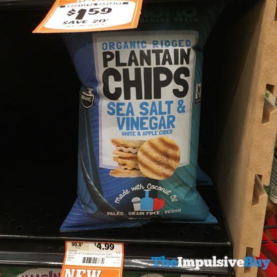Barnana Sea Salt  Vinegar Plantain Chips