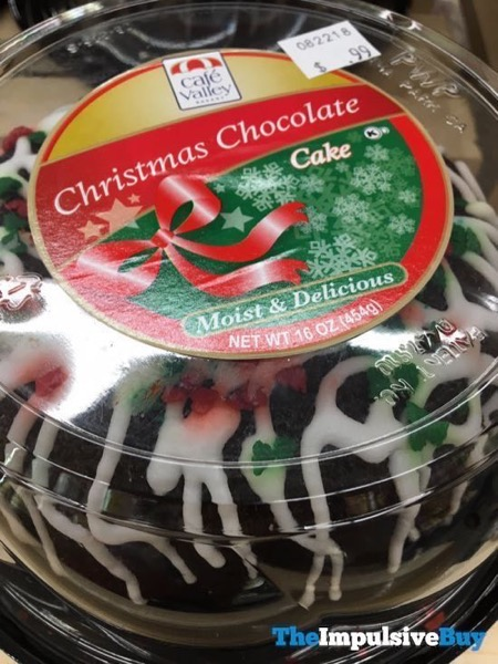 Cafe Valley Christmas Cookie Chocolate Cake