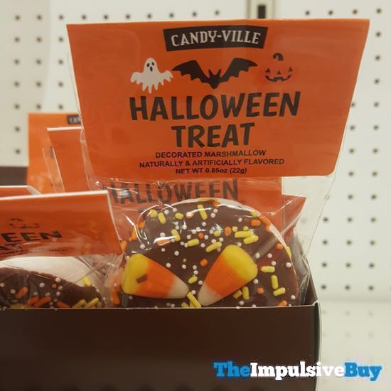 Candy ville Halloween Treat Decorated Marshmallow