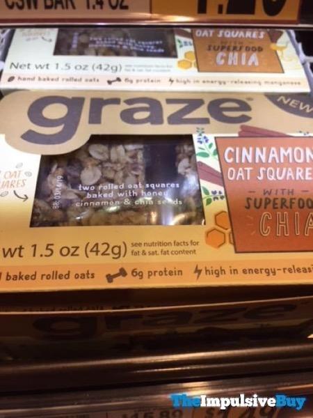 Graze Cinnamon Oat Squares