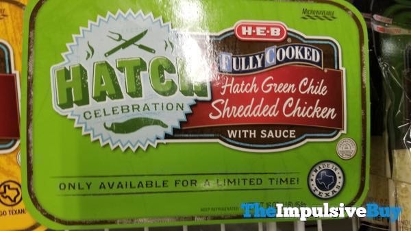 H E B Hatch Celebration Hatch Green Chile Shredded Chicken