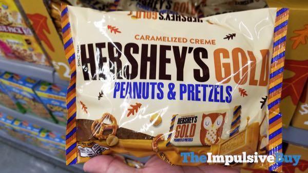 Hershey s Gold Peanuts  Pretzels Fall Design