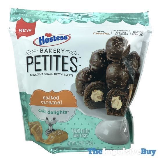 Hostess Bakery Petites Salted Caramel Cake Delights