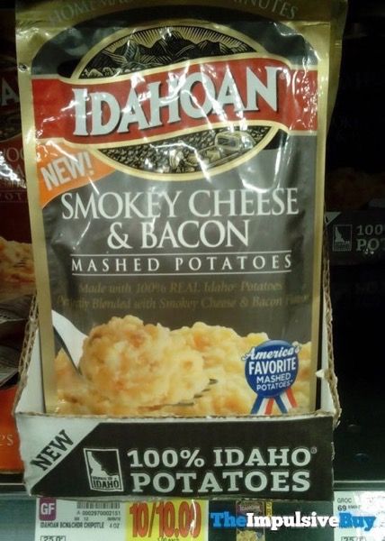 Idahoan Smokey Cheese  Bacon Mashed Potatoes