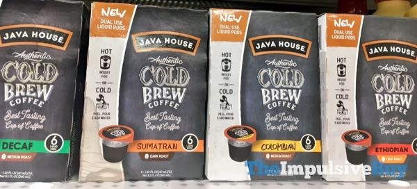 Java House Authentic Cold Brew Coffee Dual Use Liquid Pods