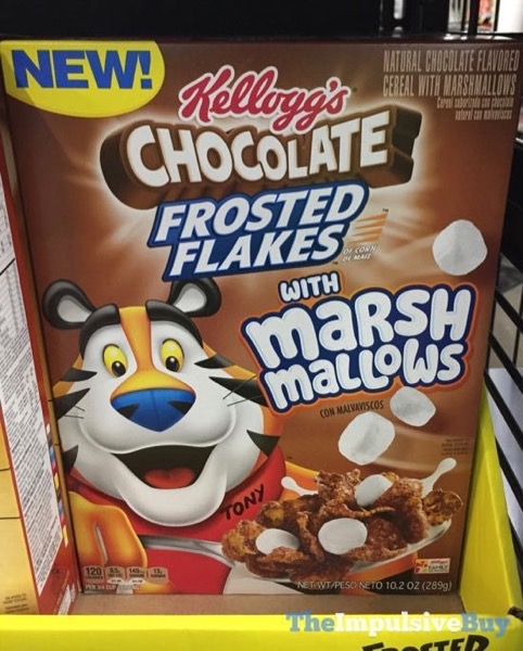 Kellogg s Chocolate Frosted Flakes with Marshmallows